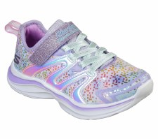 Skechers 'Double Dreams - Unicorn Wishes' Girls Shoes (Lavender Multi)