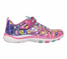 Skechers 'Trainer Lite - Happy Dancer' Girls Trainers (Multi)