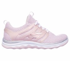 Skechers 'Diamond Runner - Sparkle Sprints' Girls Trainers (Lt Pink)