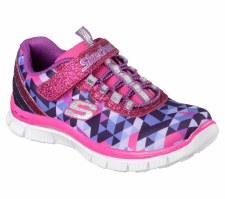 Skechers 'Skech Appeal - Geo Gems' Girls Trainers (Pink/Purple)