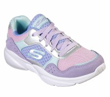 Skechers 'Meridian - Charted' Girls Shoes (Lavender Multi)