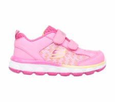 Skechers 'Lil Jumpers' Girls Trainers (Pink/Orange)