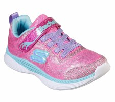 Skechers 'Move N' Groove' Girls Shoes (Pink/Turquoise)