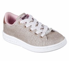 Skechers 'Omne - Shimmer Street' Girls Shoes (Gold)