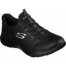 Skechers 'Summits - Itz Bazik' Ladies Trainers (Black)