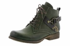 Rieker '90203' Ladies Ankle Boots (Leaf Green)