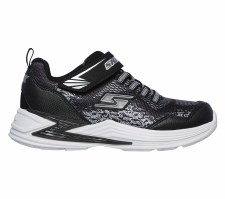 Skechers 'S Lights: Erupters III - Derlo' Boys Trainers (Black/Silver)