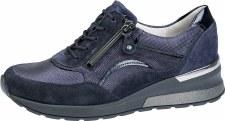 Waldlaufer '939011' Ladies Wide Fitting Shoes (Navy)