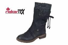 Rieker '94773' Ladies Long Boots (Black)
