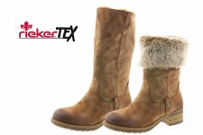 Rieker '96854' Ladies Boots (Tan)