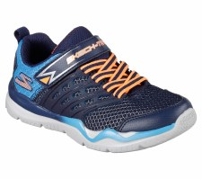 Skechers 'Skech-Train' Boys Trainers (Navy/Blue)
