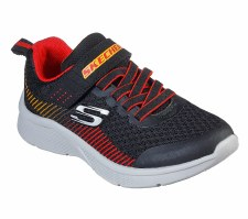Skechers 'Microspec - Gorza' Boys Trainers (Black/Red)