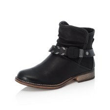 Rieker '97770' Ladies Ankle Boots (Black)