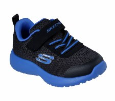 Skechers 'Dynamight - Ultra Torque' Boys Trainers (Black/Blue)