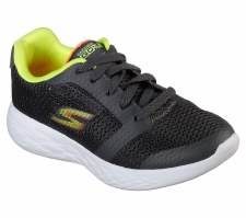 Skechers 'GOrun 600' Boys Trainers (Grey/Lime)