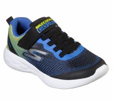 Skechers 'GOrun 600 - Farrox' Boys Trainers (Blue/Lime)