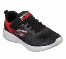 Skechers 'GOrun 600 - Farrox' Boys Trainers (Black/Red)
