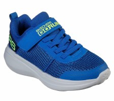 Skechers 'GOrun Fast - Tharo' Boys Trainers (Blue/Lime)
