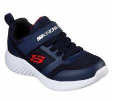 Skechers 'Bounder - Zallow' Boys Trainers (Blue/Black) )