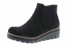Rieker '99182' Ladies Ankle Boots (Black)