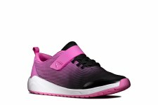 Clarks 'Aeon Pace Youth' Girls Trainers (Pink)