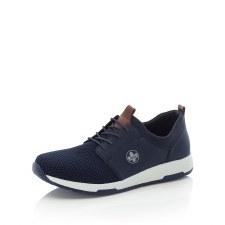 Rieker 'B9461' Mens Shoes (Black/Navy)
