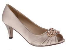 Barino '266' Ladies Heels (Beige)
