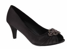 Barino '266' Ladies Heels (Black)