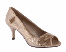 Barino '292' Ladies Heels (Gold)