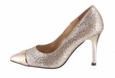 Barino '298'  Ladies Heels (Gold)