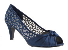 Barino '306' Ladies Heels (Navy)