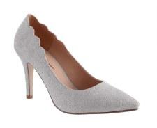Barino '334' Ladies Heels (Silver)