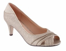 Barino '341' Ladies Glitz Heels (Gold)