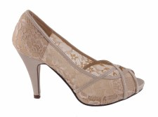 Barino '351' Ladies Heels (Gold)