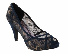 Barino '351' Ladies Heels (Navy)