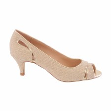 Barino '374' Ladies Heels (Gold)