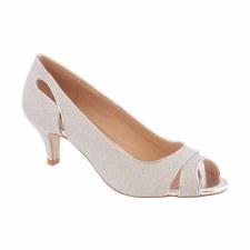Barino '374' Ladies Heels (Silver)