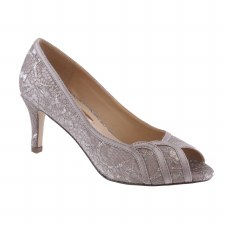 Barino '376' Ladies Heels (Grey)
