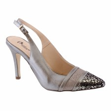 Barino '410' Ladies Heels (Pewter)