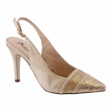 Barino '410' Ladies Heels (Rose Gold)