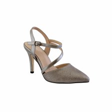 Barino '468' Ladies Heels (Pewter)
