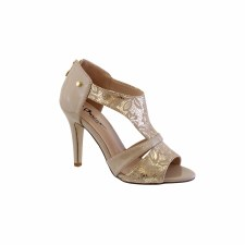 Barino '474' Ladies Heels (Nude)