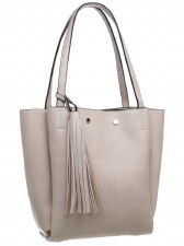 Bessie London 'BD3710' Ladies Handbag (Beige)