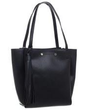 Bessie London 'BD3710' Ladies Handbag (Black)