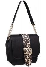 Bessie London 'BD3897' Ladies Handbag (Black)