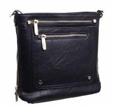 Bessie London 'BL2755' Ladies Handbag (Black)