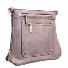 Bessie London 'BL2755' Ladies Handbag (Mud)