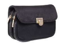 Bessie London 'BL3913' Ladies Handbag (Black)