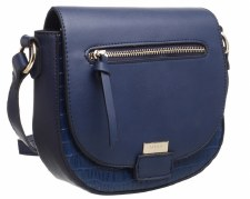 Bessie London 'BL3917' Ladies Handbag (Blue)