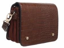 Bessie London 'BL3919' Ladies Handbag (Coffee)